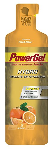 Energy Hydro Power Gel PowerBar Gel 12 x 67 ml Orangen