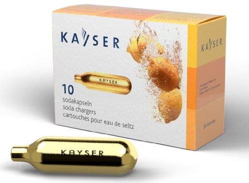 Kayser Soda CO2 Seltzer- 2 Boxes of 10