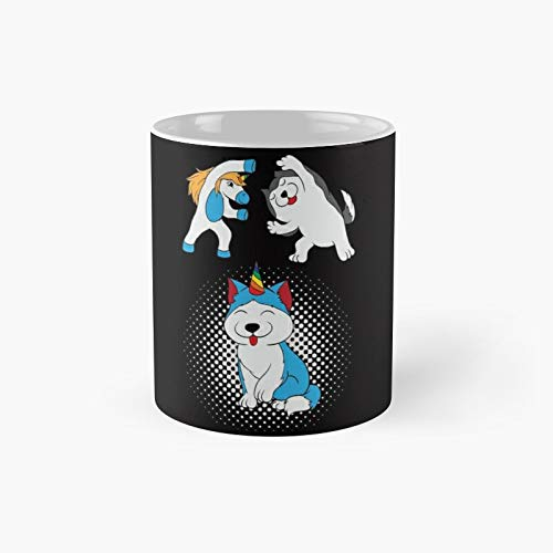 Unipug Pug Unicorn Certified Dog Lover Here's A Cute Classic Mug - Unique Gift Ideas For Her From Daughter Or Son Cool Novelty Cups 11 Oz.