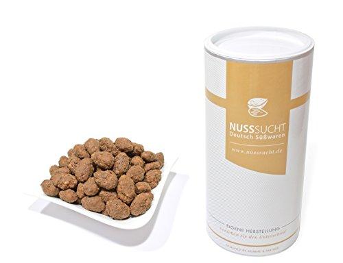 Gebrannte Mandeln mit Nutella Geschmack | Inhalt: 500g | ohne Zusatz- und Konservierungsstoffe | mit wenig Zucker
