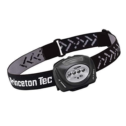 Princeton Tec Unisex Erwachsene Quad Industrial Stirnlampe – weiß, schwarzer Körper, zutreffend