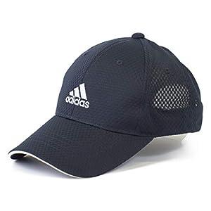 (アディダス) adidas キッズ 帽子 キャップ 子供 CAP ライトメッシュ バイザー 男の子 女の子 小学生 サッカー 運動 紫外線予防 紫外線対策 ひよけ 熱中症 ボーイズ 508k (71 ネイビー)