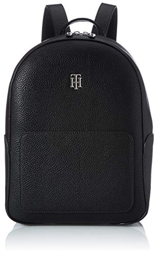 Tommy Hilfiger Damen TH Essence Rucksack, Black, One Size