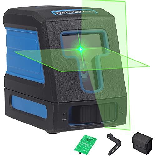Nivel Láser de Autonivelación Nivel Laser Verde Cruzado