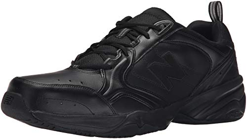 New Balance Men's 624 V2 Casual Comfort Cross Trainer, Black, 19 M US