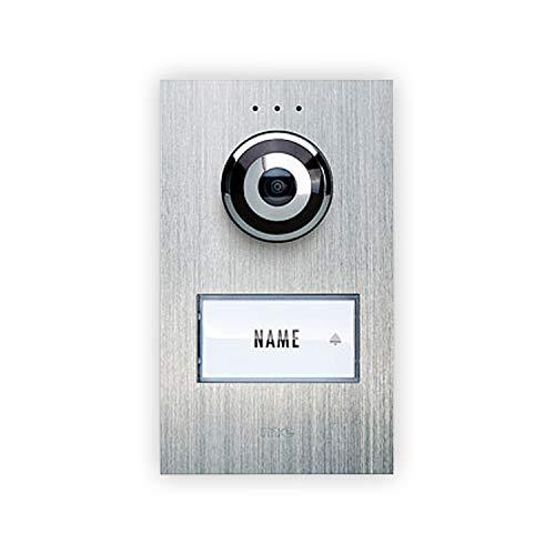 Video-Türsprechanlage Kabelgebunden Außeneinheit m-e modern-electronics VDV 610 compact 1 Familien