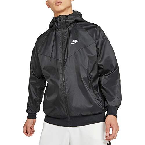 Nike He WR HD Giacca, Nero/Bianco, M Uomo