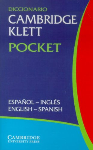Diccionario Cambridge Klett Pocket Español-Inglés/English-Spanish
