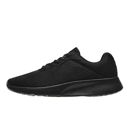 MAIITRIP Men's Running Shoes Sport Athletic Sneakers,Black,Size 9.5