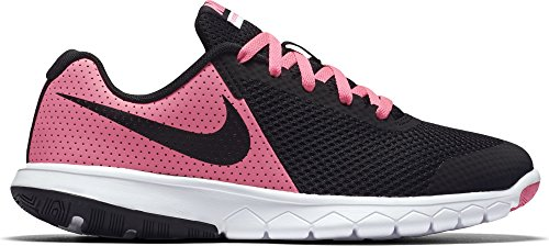 Nike Mädchen Flex Experience 5 (gs) Traillaufschuhe, Mehrfarbig (Pink Blast/Black/White 600), 35.5 EU