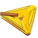 Jqwerp Ceniceros Cenicero para cigarros, Soporte para Cigarrillos de cerámica, Accesorio para el hogar, Oficina, Tabaco, ceniceros de Viaje, Regalo