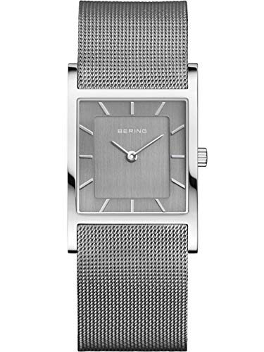 Bering Damen Analog Quarz Uhr mit Edelstahl Armband 10426-309-S