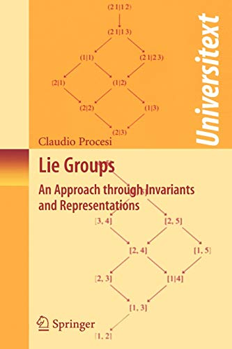 Lie Groups: An Approach through Invariants and Representations (Universitext)