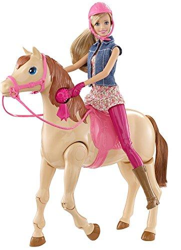 Barbie Mattel CMP27 - Reitpferd und Puppe
