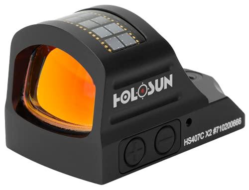 HOLOSUN - HS407C-X2 Classic Open Reflex Red Dot Sight 2 MOA...