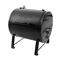 professional Char-Griller E82424 Charcoal grill on the side, black