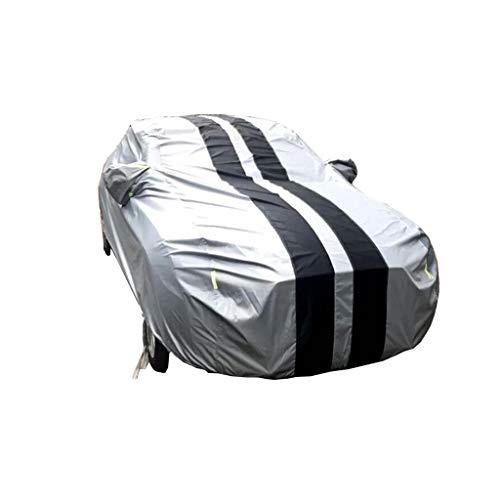 Wandjunxu Compatibel met Exeed E-IUV volledige auto-afdekking, waterdichte Oxford-doek voor buiten, voorruit, stofbescherming, zonwering, krasbestendig, uv-all-weather auto Persenning Sedan Car Cover