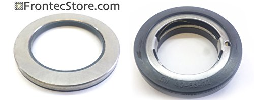 1x Axial Seal Ring, Counter Ring 58mm; For IPSO, Cissel, Huebsch, Unimac parts for IPSO