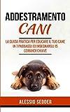 addestramento cani: la guida pratica per educare il tuo cane in 7 passaggi ed insegnargli 15 comandi chiave