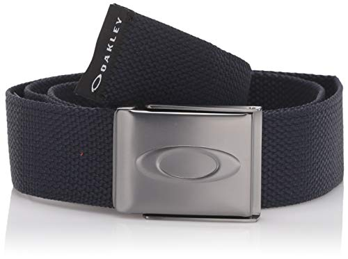 Oakley Men's Ellipse Web Belt, FATHOM, One Size