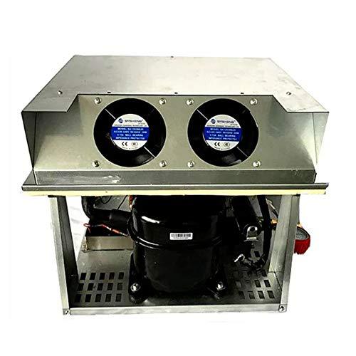 Aire acondicionado de 12 voltios Máquina expendedora compacta Unidad de enfriamiento de la cubierta del compresor VCU-01M-16 Acondicionador de aire 12V (Style : Cooling Unit VCU-01M-16)