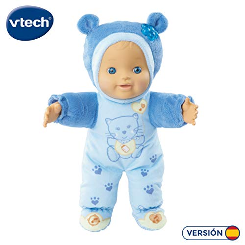 Vtech 3480-169467 - ROSI Interaktiv Puppe, blau - Little Love