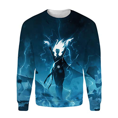 X-Men Pullover Otoño Cálido Sweatshirt Classic Basic Pullover Men Hipster Hipster Sudaderas...