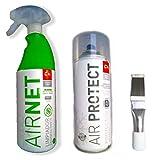 Kit Limpiador aire acondicionado Airnet + AirProtec + Peine de...