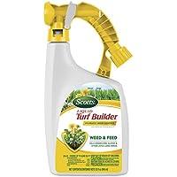 Scotts Liquid Turf Builder with Plus 2 Weed Control Fertilizer 32 Fl Oz