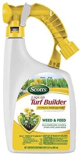 32oz Scotts Liquid Turf Builder with Plus 2 Weed Control Fertilizer $7.92 + Free S&H w/ Prime or $25+
