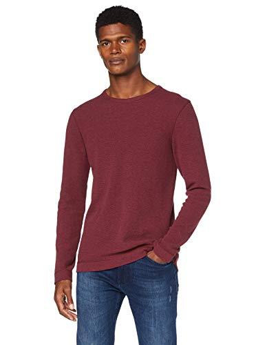BOSS Herren Tempest Sweatshirts, Dark Red (605), M EU