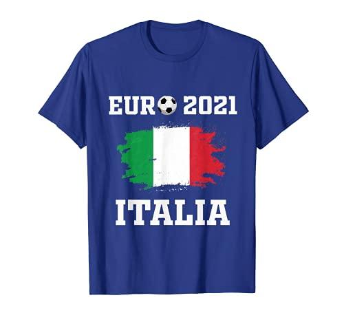Euro 2021 Italia flag Maglietta