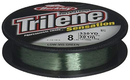 Price comparison product image Berkley Snfsn12-22 Trilene Sensation Fishing Bait,  Green,  330 yd