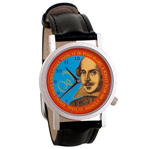 William Shakespeare Twelth Night Theatre Unisex Analog Watch
