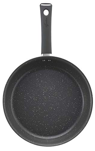 Lagostina Lavinia Steel Frying Pan, gray, 24 cm