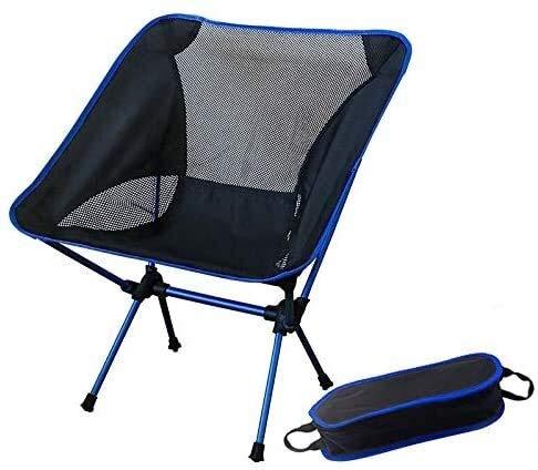 Pêche légère Seat Portable Chaise gris chaise sac à dos de plage Camping Tabouret pliant Mobilier d'extérieur Jardin New Al Ultra Portable Light Chaises