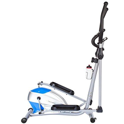 TechFit OptimusCity Cross Trainer, Cyclette Ellittica per la casa, la perdita di peso Macchina per Cardio ed Esercizi di Fitness, Dispositivo di Resistenza Magnetica adatta per spazi interni
