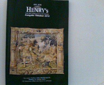 Henry's Sofortverkauf & Auktionen, Ausgabe Oktober 2012