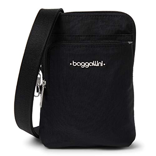 Baggallini Anti-Theft Activity Crossbody Bag, Black