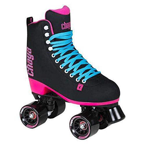 Chaya Melrose Supreme Classic Dance Black Quad Roller Skates New