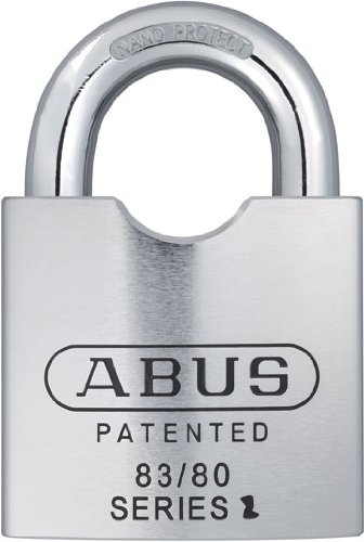 ABUS 83832 Schlage All Weather Rekeyable Padlock, Zero-Bitted