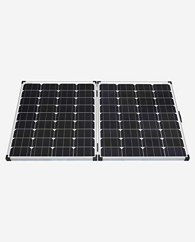 enjoysolar® Solarkoffer 60W, 100W, 160W faltbare Solarmodule (160W (2 * 80W))