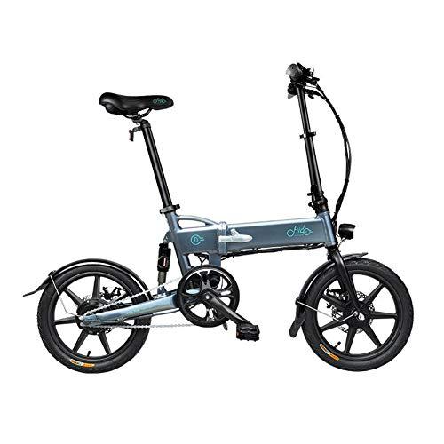 WHYTT E-Bici Plegable D2S 16 '' de Bicicleta eléctrica 250W Aluminio Bicicleta...