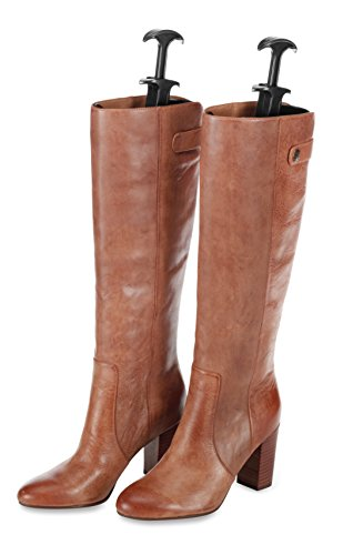 Whitmor Boot Shapers- Spring Loaded Adjustable - Men's and Women's Boots