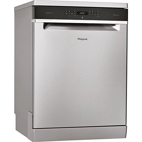 Lave vaisselle Whirlpool WFO3033DX - Lave vaisselle 60 cm - Classe A+++ / 43 decibels - 14 couverts - Inox bandeau : Noir - Pose libre