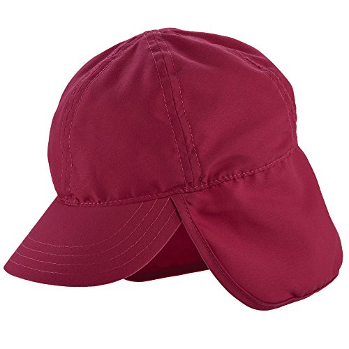 UV flap cap for Kids from Scala - Fuchsia
