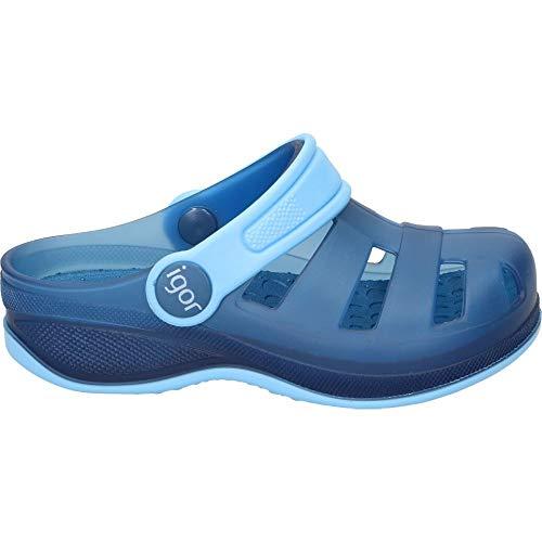 IGOR S10251063 Zueco DE Agua Azul Plantilla Extraible