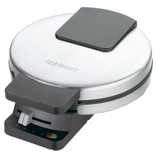 Cuisinart WMR-CA Round Classic Waffle Maker, Silver, 1