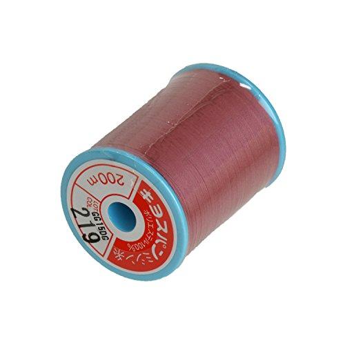 スパンミシン糸 60番手 200m KY58#219 ピンク