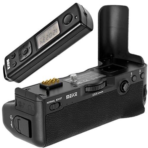 Meike - Empuñadura de batería, compatible con Fujifilm X-T2, repuesto para Fujifilm VPB-XT2, incluye disparador remoto de 2,4 GHz, alcance de 100 m, MK-XT2 Pro